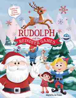 Rudolph and the Reindeer Games by Editors Of Silver Dolphin Books