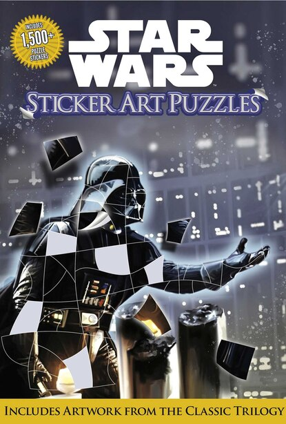 Star Wars Sticker Art Puzzles by Gina Gold