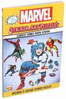 Marvel Sticker Art Puzzles by Steve Behling