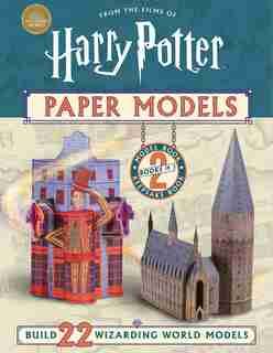 Harry Potter Paper Models by Moira Squier