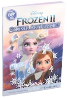 Disney Frozen 2 Sticker Art Puzzles