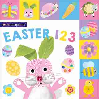 Alphaprints: Easter 123 Mini: Mini Version by Priddy Books