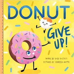 Book Donut Give Up by Rose Rossner