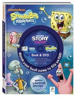 Book SpongeBob Squarepants: Book & DVD by Hinkler Books