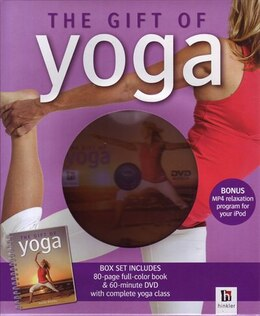 Book GIFT OF YOGA BK & DVD NTSC by Kenny Gena