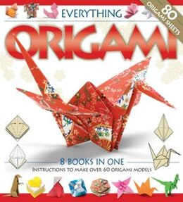 Book EVERYTHING ORIGAMI BINDER by Books Hinkler