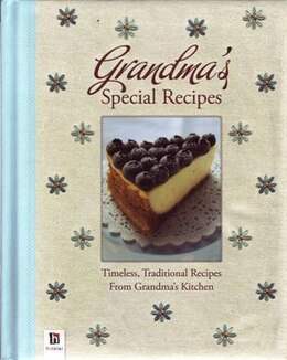 Book Grandma's Special Recipes by Hinkler Books