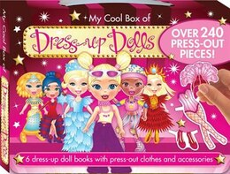 Book Dress Up Doll Carry Handle Box by Hinkler Books