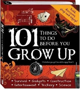 101 Things To Do Before You Grow Up Binder
