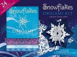 Book Snowflake Origami Kit by Hinkler Books Pty Ltd