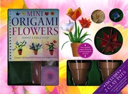 Book Mini Origami Flowers by HINKLER BOOKS PTY LTD
