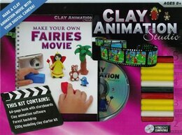 Book Clay Animation Studio Fairies by Hinkler Books