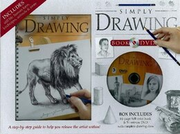 Book Simply Drawing Bk & Dvd by Na