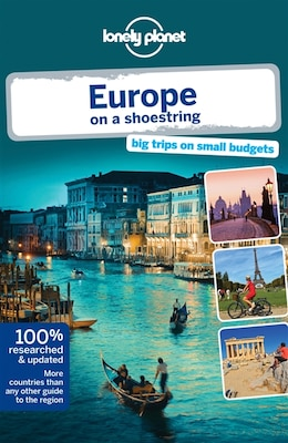 Book Lonely Planet Europe on a shoestring 8th Ed. by Tom Lonely Planet