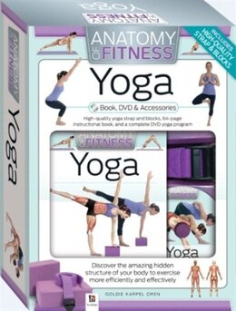 Book YOGA ANATOMY OF FITNESS COMPLETE KIT by Books Hinkler