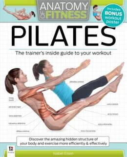 Book ANATOMY OF FITNESS PILATES by Hinkler Books