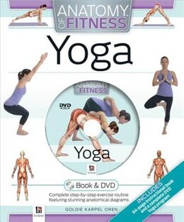 Book Anatomy Of Fitness Yoga Dvd Kit by Hinkler Books