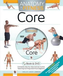 Book Anatomy Of Fitness Core Dvd Kit by Hinkler Books