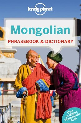 Book Lonely Planet Mongolian Phrasebook & Dictionary 3rd Ed.: 3rd  Edition by Alan J K Lonely Planet