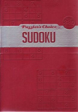 Book PUZZLER'S CHOICE PRIMO SUDOKU by Books Hinkler