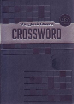 Book PUZZLER'S CHOICE PRIMO CROSSWORD by Books Hinkler