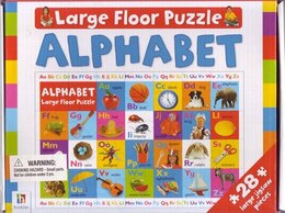 Book GIANT FLOOR PUZZLE ALPHABET by Books Hinkler