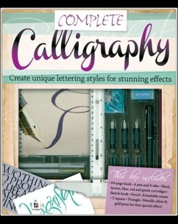 Book Complete Calligraphy by Books Hinkler