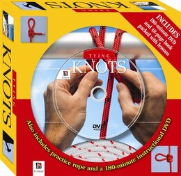 Book GIFT BOX TYING KNOTS by Hinkler Books