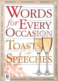 Book WORDS FOR EVERY OCCASION: SPEECHES AND T by Books Hinkler