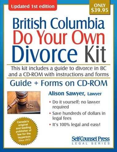 Do your own divorce kit british columbia guide forms on cd rom do your own divorce kit british columbia guide forms on cd rom by solutioingenieria Gallery