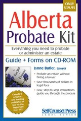 Will kit in all shops chaptersdigo probate kit for alberta everything you need to probate an estate solutioingenieria Image collections