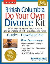 Do Your Own Divorce Kit British Columbia: Guide + Download Kit