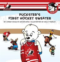Puckster's First Hockey Sweater