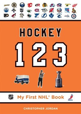 Book Hockey 123 by Christopher Jordan