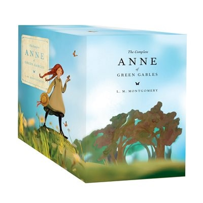 Anne Of Green Gables Complete Book Set by L. M. Montgomery
