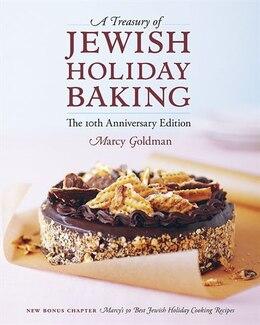 Book A Treasury of Jewish Holiday Baking by Marcy Goldman