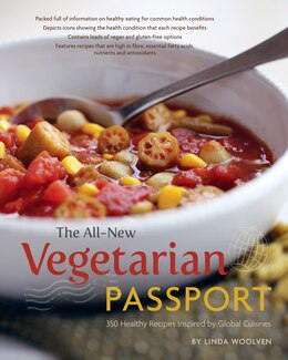 Book The All-New Vegetarian Passport by Linda Woolven