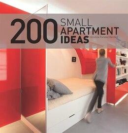 Book 200 Small Apartment Ideas by Cristina Benitez