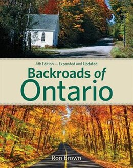 Book Backroads Of Ontario by Ron Brown