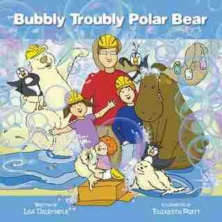 Bubbly Troubly Polar Bear by Lisa Dalrymple