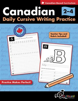 Book Canadian Daily Cursive Writing Practice Grades 2-4 by Demetra Turnbull