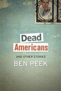 Book Dead Americans by Ben Peek