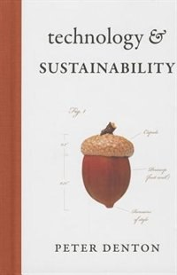 Book Technology and Sustainability by Peter Denton