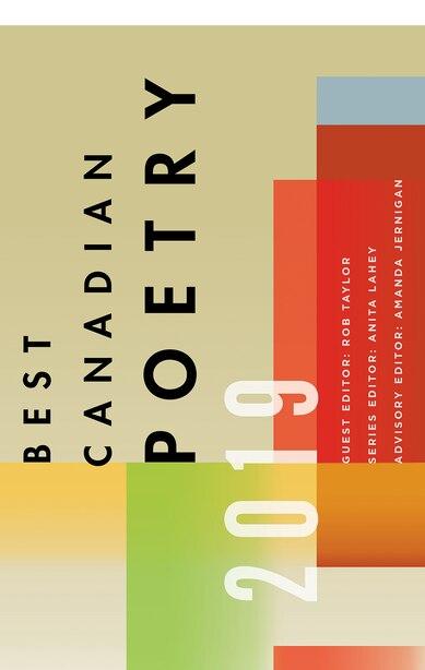 Best Canadian Poetry 2019