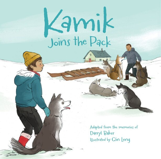 Kamik Joins The Pack by Darryl Baker