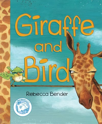 Giraffe and Bird by Rebecca Bender