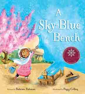 A Sky-blue Bench by Bahram Rahman