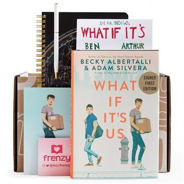 Indigo Book Box: What If It's Us by Becky Albertalli