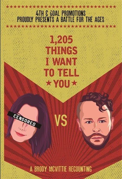 1,205 Things I Want to Tell You by Brody Drew McVittie