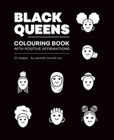 Black Queens Colouring Book